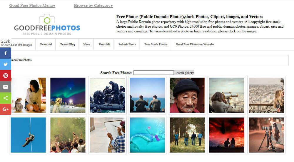 Goodfreephotos zdjęcia bez opłat