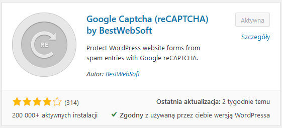 Google Captcha (reCAPTCHA) by BestWebSoft