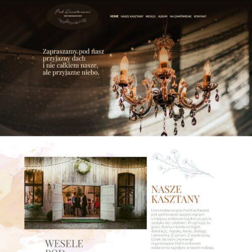 Dom weselny i restauracja Pod Kasztanami